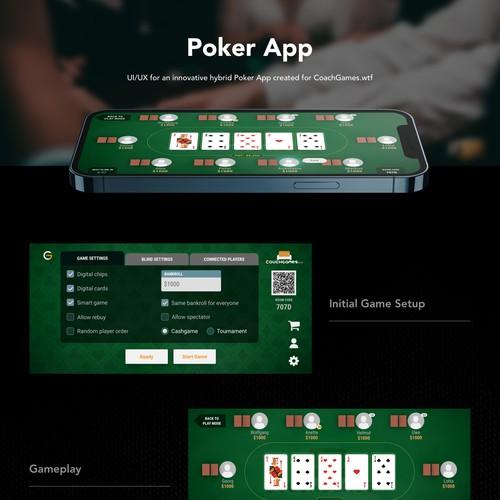 UI/UX for Poker App