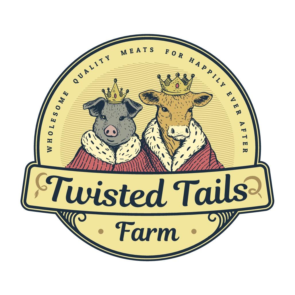 Twisted Tails farm logo