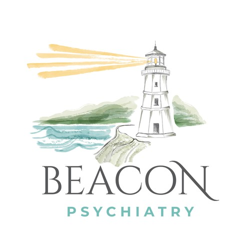 Logo design for Beacon Psychiatry