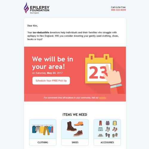 Non-Profit Email Design