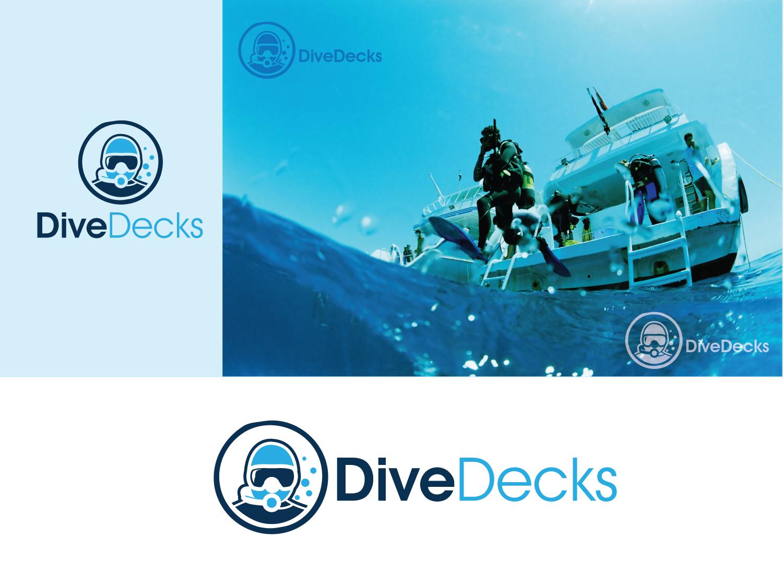Design a logo for DiveDecks - where you'll find your next dive trip!