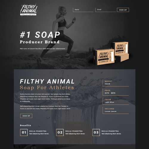 Filthy Animal Soap