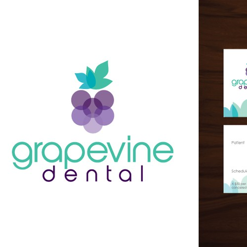 Logo and Business Card for Grapevine Dental
