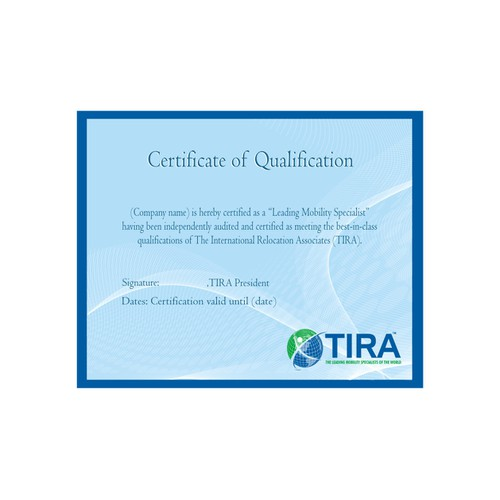 Need Elegant Certificate designed for Professional Organization