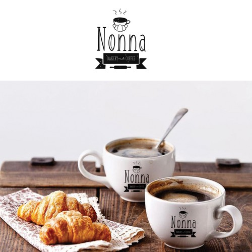Bakery and Coffee logo design