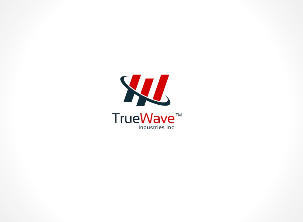 Design a simple logo for True Wave Industries