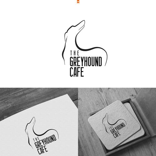 Vegetarian Cafe Logo branding
