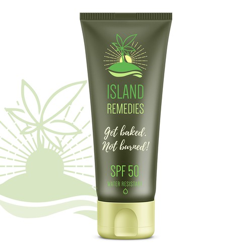 Logo concept for Island Remedies