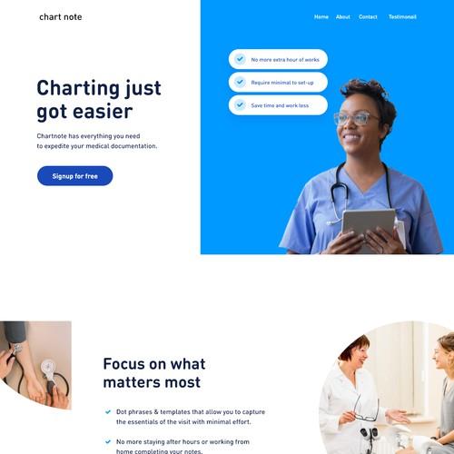 Doctor documentation web app
