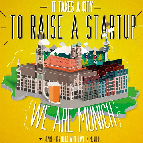 Poster for Start-up company