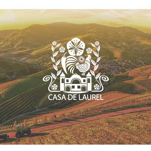 Logo for Casa de Laurel