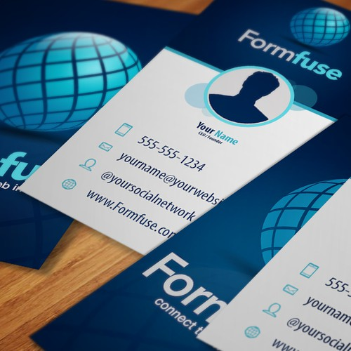 logo and business card for Formfuse