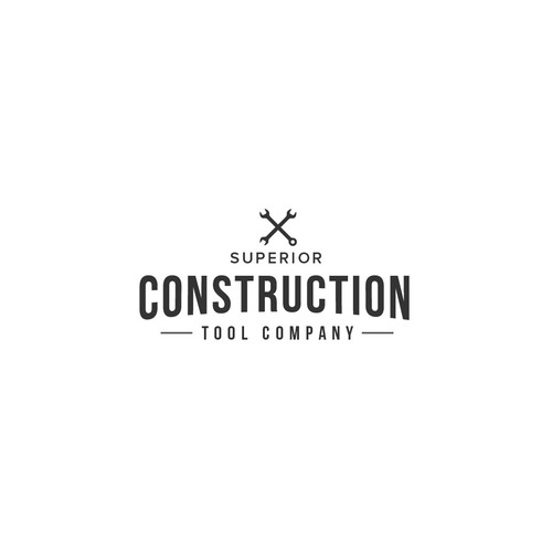 logo for superior construction company