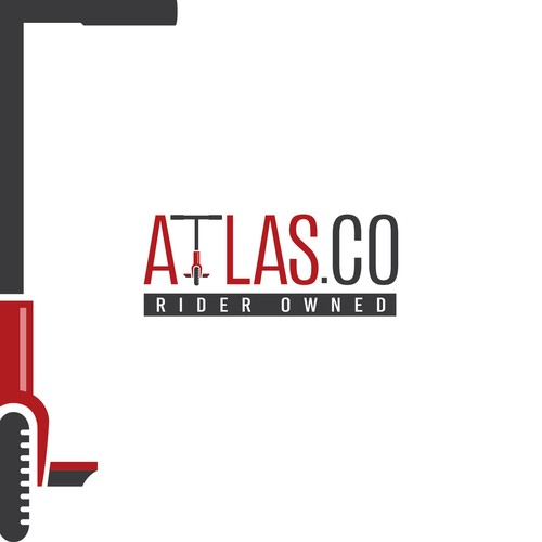 Logo concept for AtlasCo.