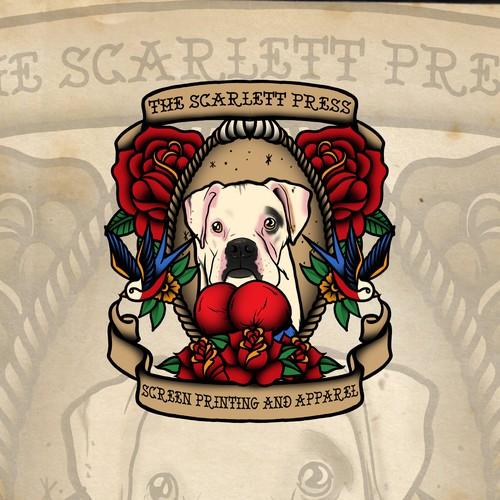 The Scarlett Press Tshirt