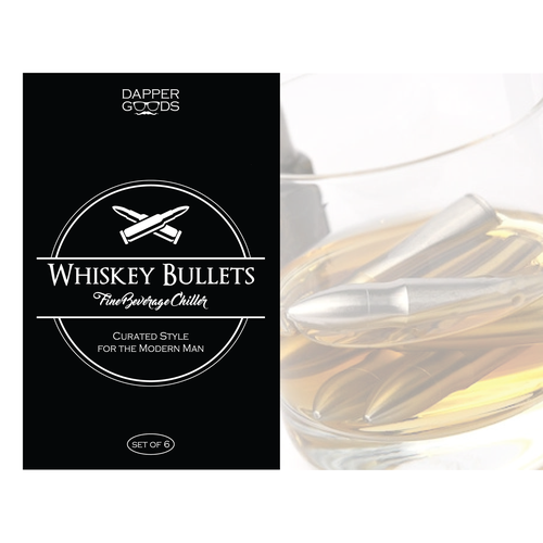 Logo and Label design for Whiskey Bullets