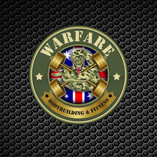 Create a Military Logo for a unique Bodybuilding Personal Training Business