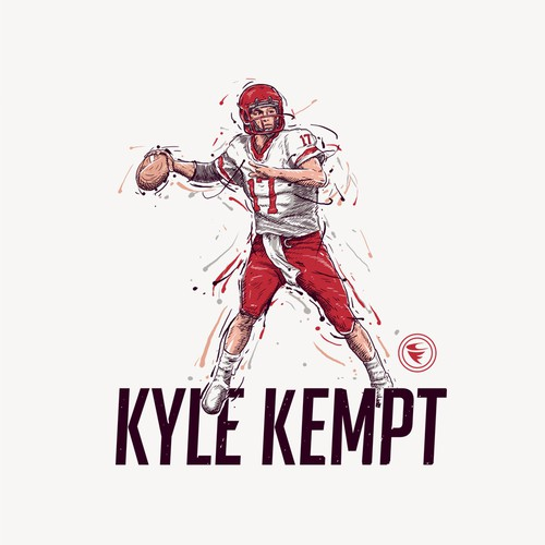 Football Player Inspired Design for a Tee