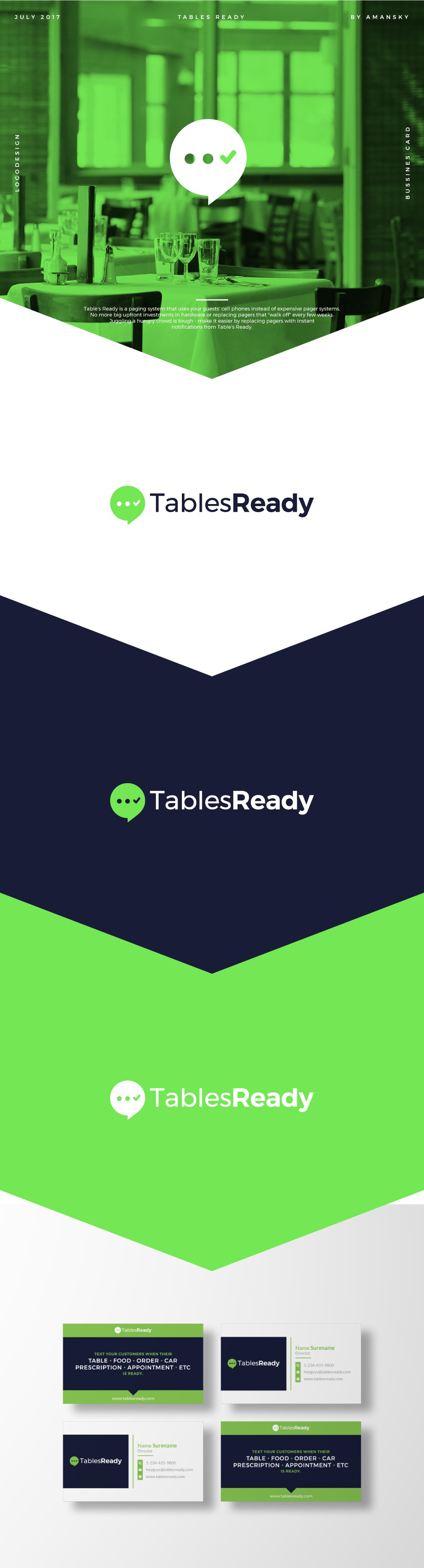 Table's Ready brand redesign