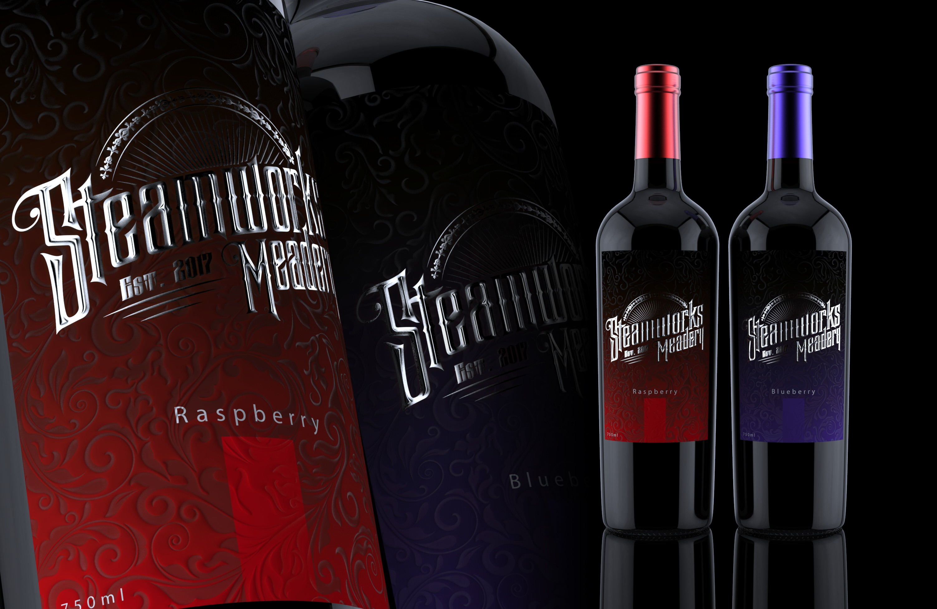 Wine label and logo design