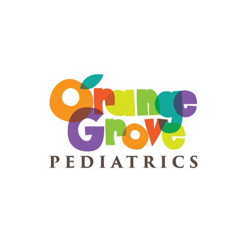 colorful pediatric logo
