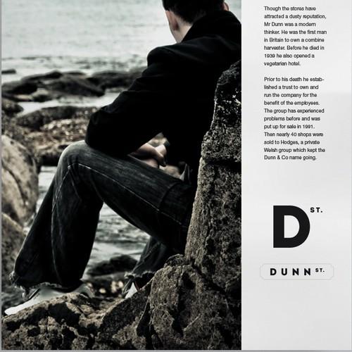 Logo for men's accessories brand Dunn Street