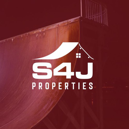 S4J Propertis Logo Design Concept