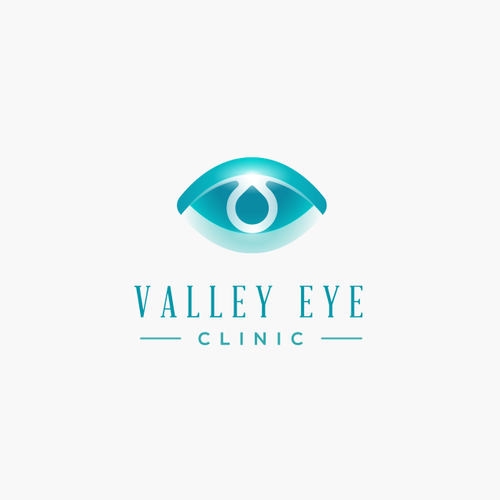 Logo for an eye car clinic