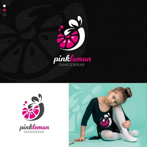 Logo concept for a girls dance wear company