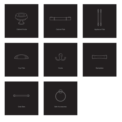 Icons for home furnishing company