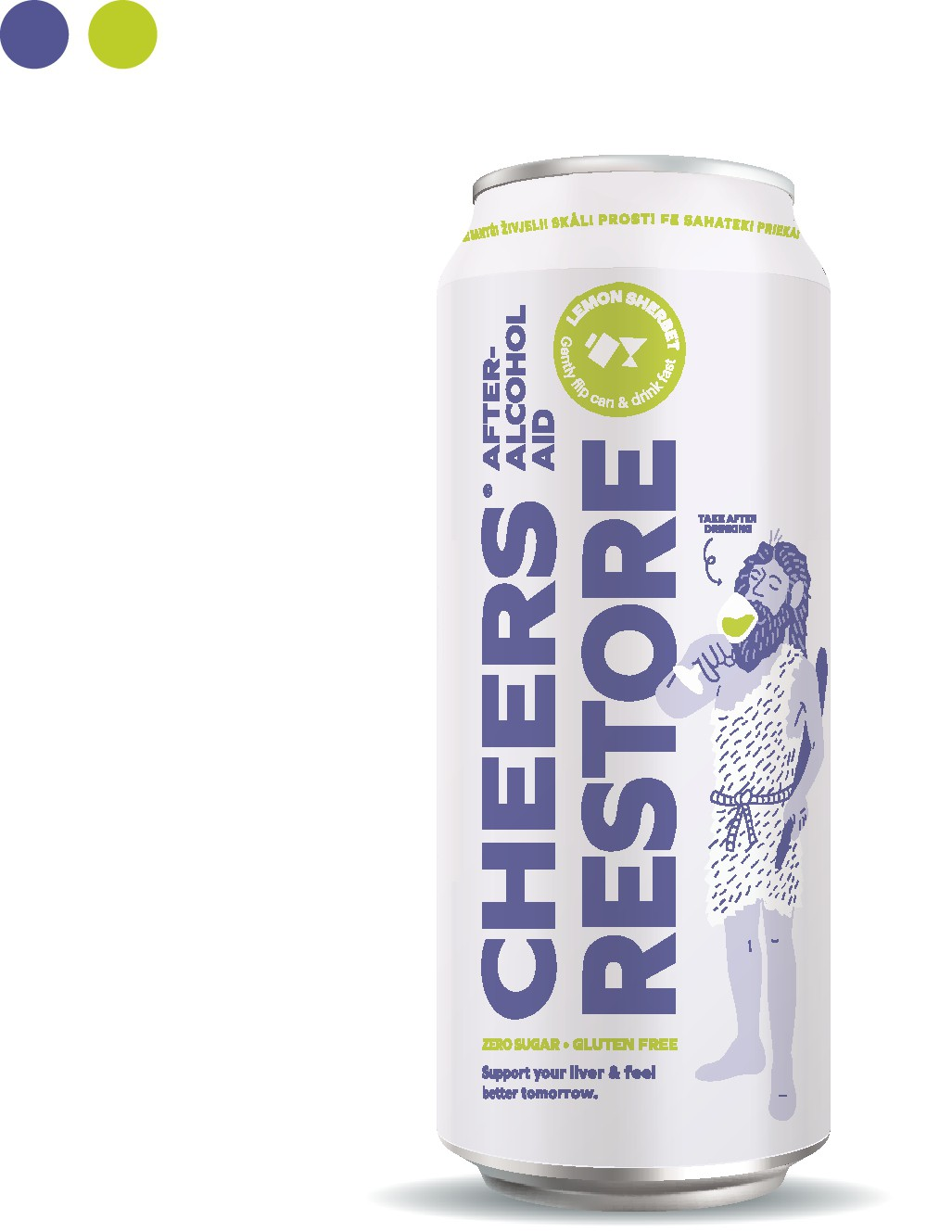Cheers 12oz can - Vector