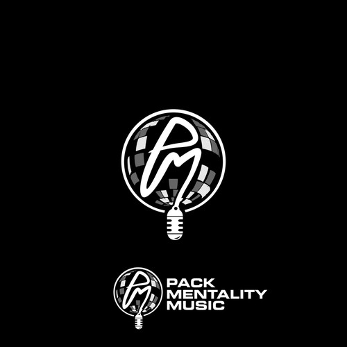 LOGO CONCEPT FOR PACK MENTALITY MUSIC