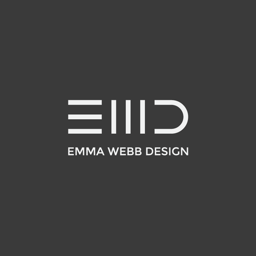 Strong minimal logo needed for a interior designer