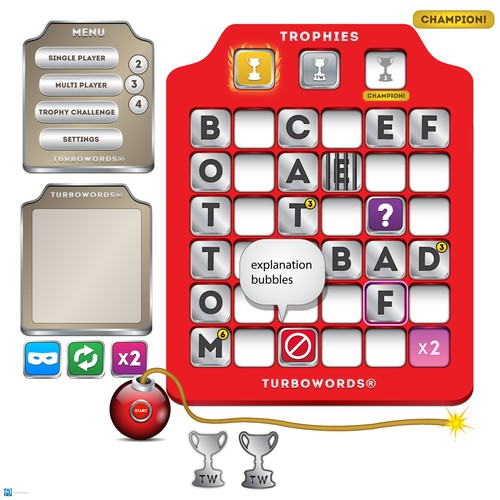 turboWORDS® game app.