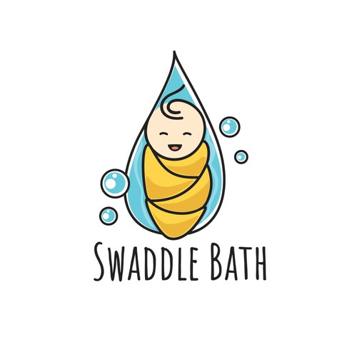 logo for baby bath company