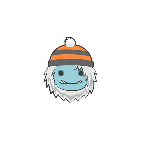 A Yeti face is needed for a winter apparel company
