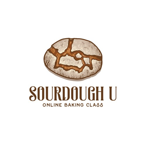 Logo for sourdough baking course