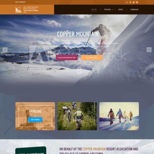Copper Mountain Resort Association Website