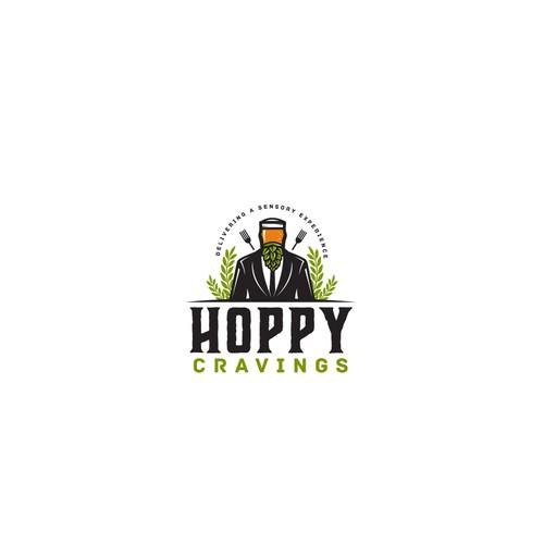 """Logo design for """"Hoppy Cravings"""""""