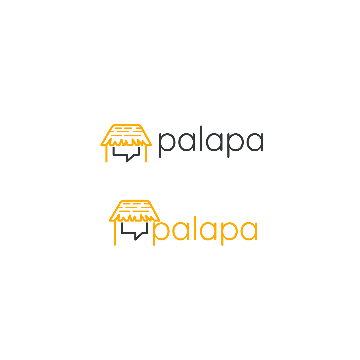 Design a logo for Palapa, the hot new messaging app