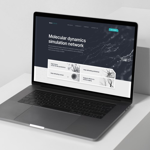 Blockchain Website