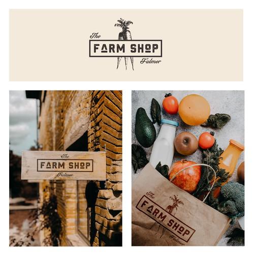 Farm Shop Logo Design