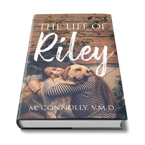 A simple book cover about a dog.
