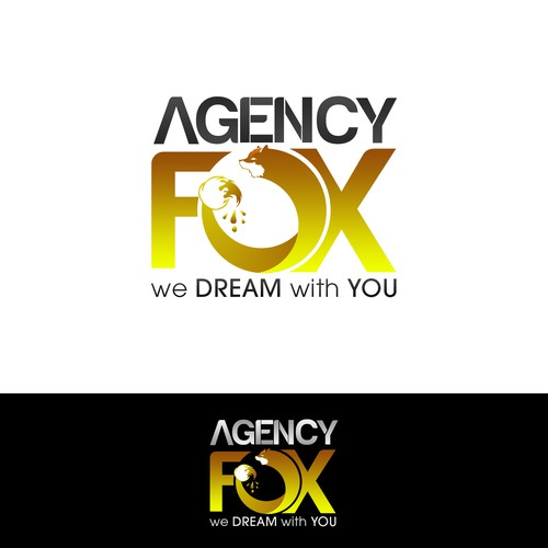 Design Agency Logo - Agency Fox.com - Hot new design company