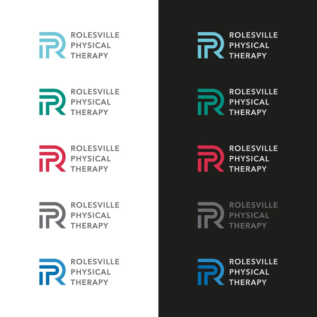 Logo for up and coming Physical Therapy business bridging the rural and athletic communities