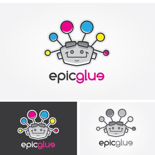 Logo concept for EpicGlue