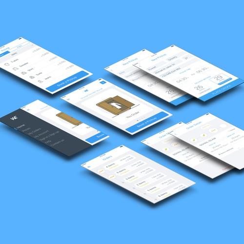 Laundry app design