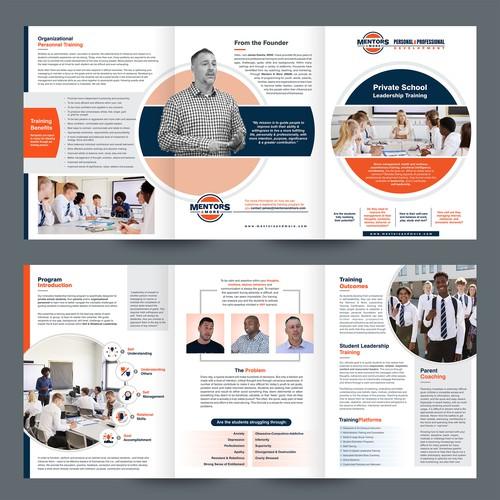 Mentoring program brochure