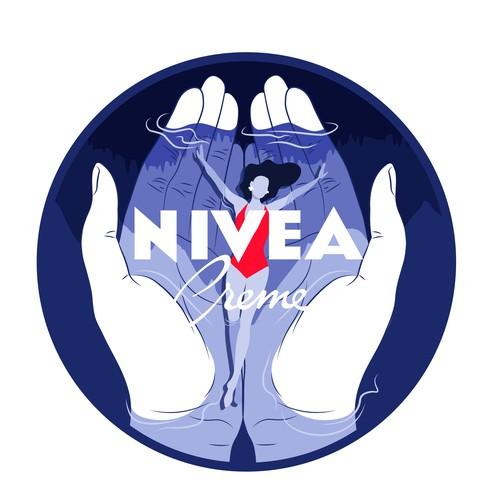 Nivea cream special edition design
