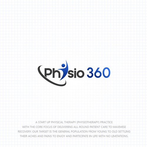 Physio 360 - Fresh Logo Design